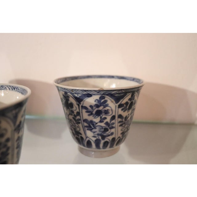 Asian 19th Century Set of Three China Ceramic Cups For Sale - Image 3 of 8