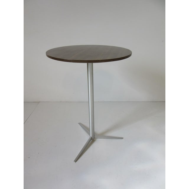 Metal Thonet Drink / Cigarette Side Table For Sale - Image 7 of 8