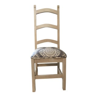 Vintage Rustic Ladderback Chair