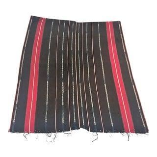 Laos Mid Century Tribal Hand Woven Cloths - Set of 3, 1960's, Vietnam War For Sale