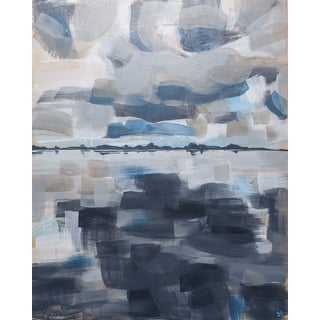 Shana Grugan Even the Water Rises Contemporary Painting For Sale