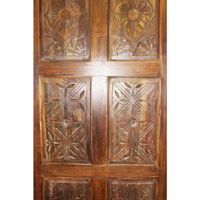 19th Century 19th Century Antique Carved Door For Sale - Image 5 of 6