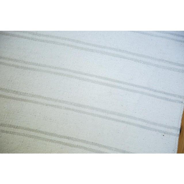 "Vintage Striped Flatwoven Carpet - 10' X 10'6"" - Image 3 of 5"