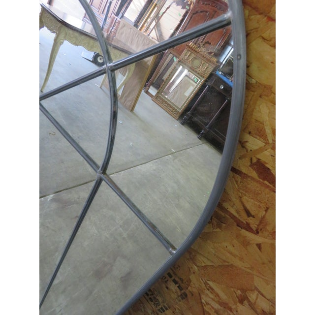 Contemporary Carol Canner Designed Carvers' Guild Architectural Window Style Mirrors - a Pair For Sale - Image 3 of 6