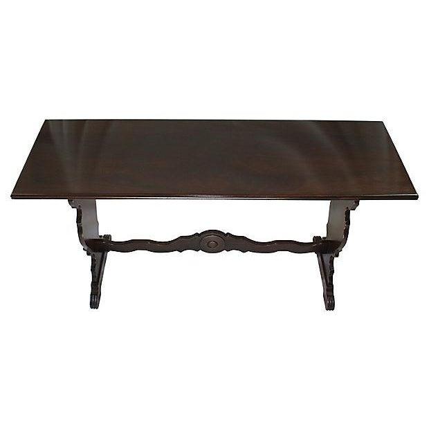Antique McClellan Mahogany Console Table - Image 3 of 7