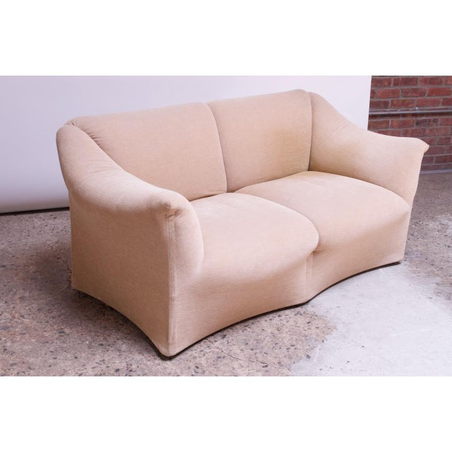1970s Tentazione Loveseat Two-Seat Sofa by Mario Bellini for Cassina For Sale - Image 13 of 13