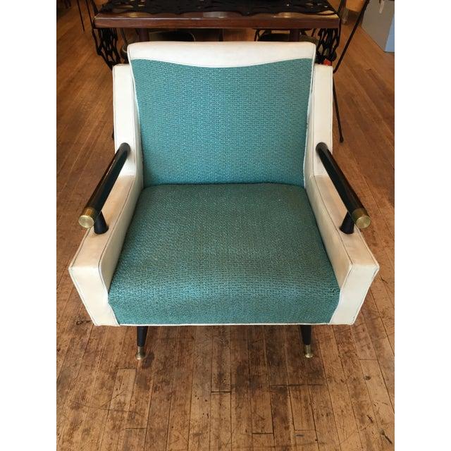 Mid Century Atomic Era Club Chair - Image 2 of 6