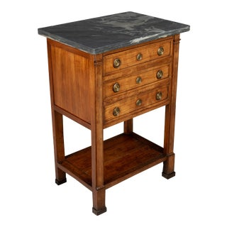 19th Century French Directoire Period Side Table For Sale