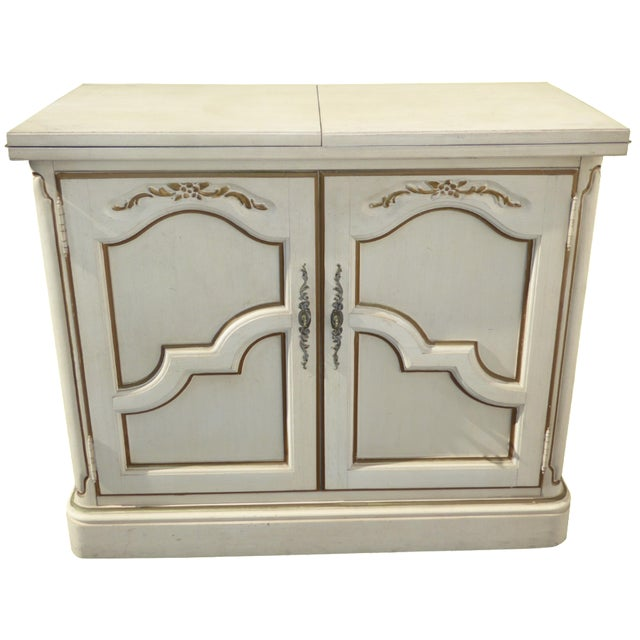 Thomasville French Country White & Gold Server For Sale