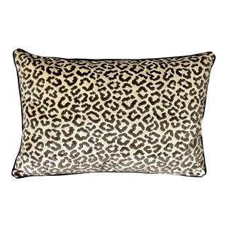 Lee Jofa High End Velvet Lumbar Pillows - Set of 2 For Sale