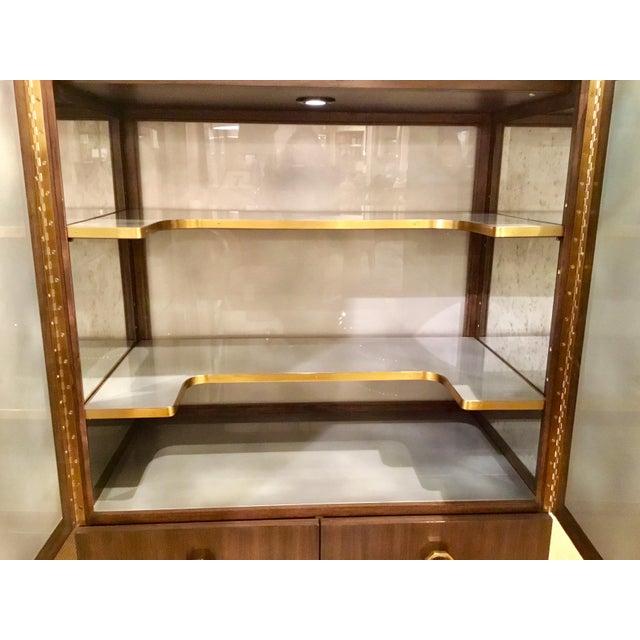 Henredon Modern Henredon Bihuber Barclays St. Bar Cabinet For Sale - Image 4 of 10