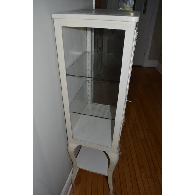 Apothecary Dental Steel and Glass Cabinet - Image 6 of 10