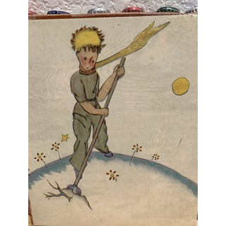 The Little Prince Wood Craft Art Wall Decor For Sale