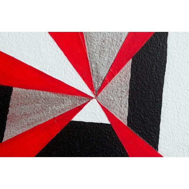 """Original """"Mirror Star"""" Painting - Image 3 of 3"""