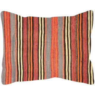 "Nalbandian - Turkish Kilim Pillow - 24"" X 30"" For Sale"