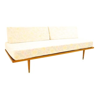 George Nelson for Herman Miller Style Mid Century Walnut Daybed For Sale