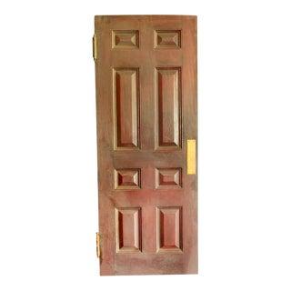 Mahogany Eight Panel Interior Push Door