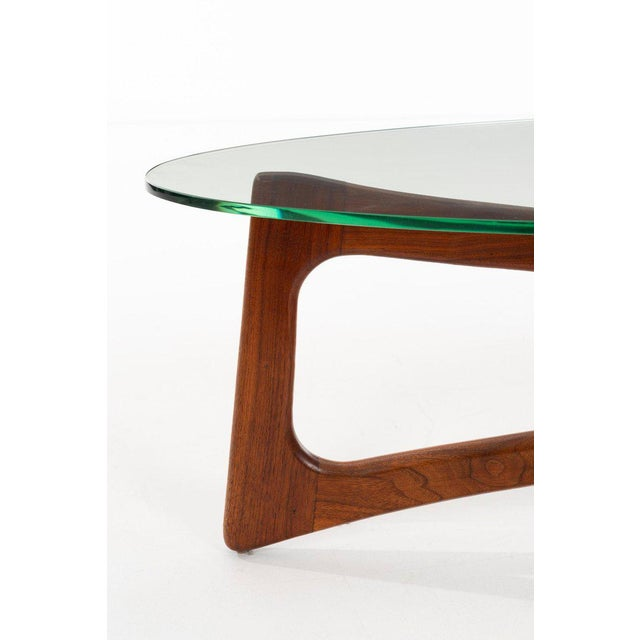 Mid-Century Modern Adrian Pearsall 2454-Tgo Coffee Table for Craft Associates For Sale - Image 3 of 6