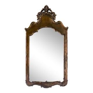 Mid-Century Hollywood Regency Resin Mirror For Sale