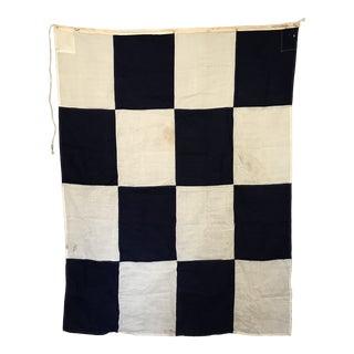 """Vintage Signal Flag """"N November"""" For Sale"""