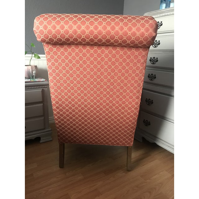1960s English Roll Arm Empire Chair For Sale - Image 5 of 9