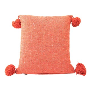 Pink Moroccan Cotton Pillow