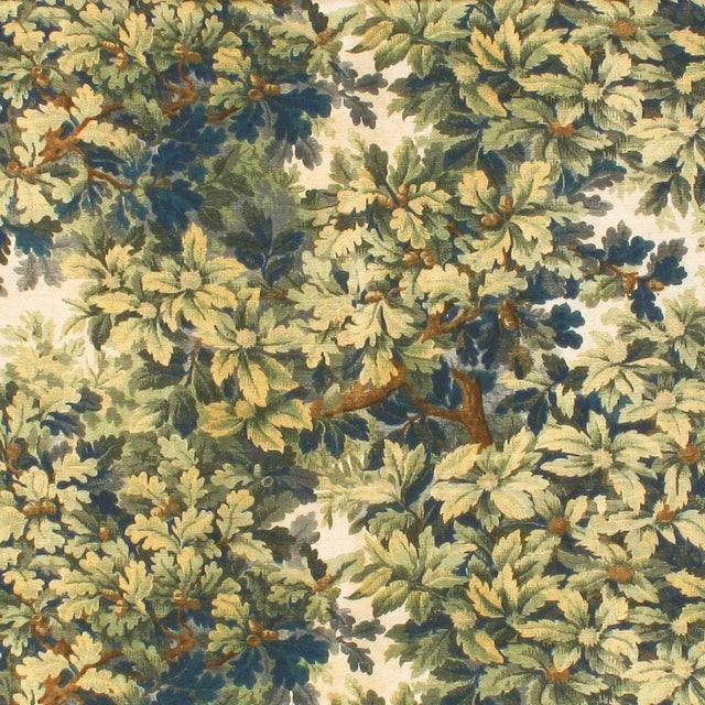 Transitional Scalamandre Bois de Chine Fabric Sample For Sale - Image 3 of 3