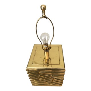 Chapman Vintage Brass Lamp
