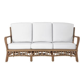 Viscaya Sofa in Natural Canvas For Sale