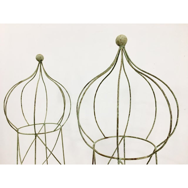 Trellis Topiary 8 ' Tall - Set of 2 For Sale - Image 4 of 6