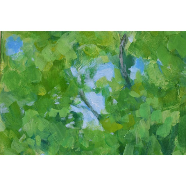 """2010s Contemporary Painting, """"Treetops Painting"""" by Stephen Remick For Sale In Providence - Image 6 of 12"""