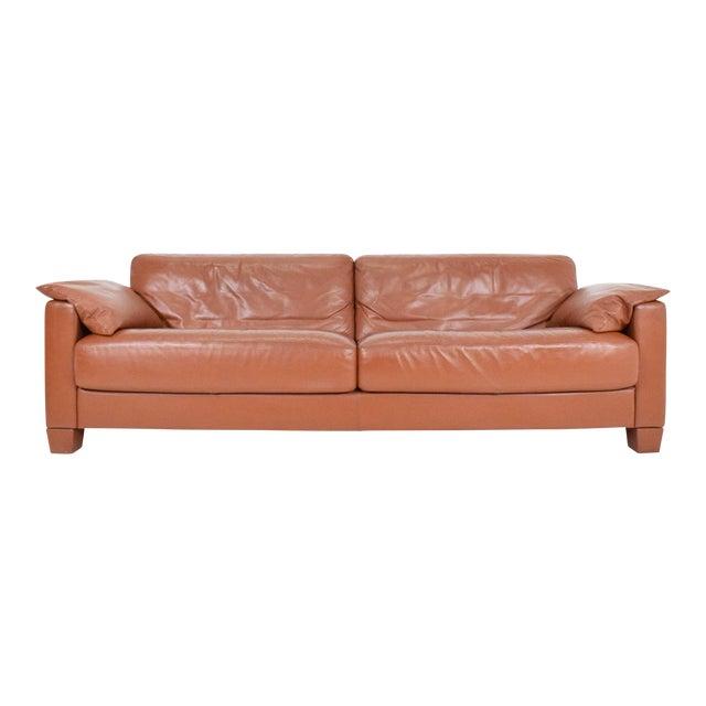 De Sede Leather Sofa For Sale