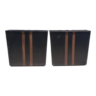 Vintage Eldon Wastebaskets - a Pair For Sale