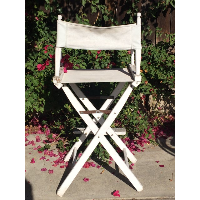 Shabby Chic Director's Chair For Sale - Image 4 of 9