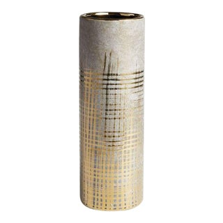 Kambia Cylinder Vase by Kenneth Ludwig Chicago For Sale