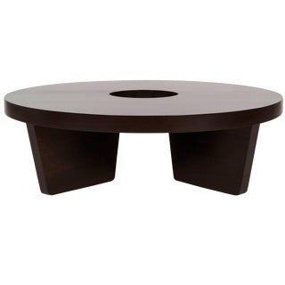 Mahogany Harvey Probber Nucleus Coffee Table, 1952 For Sale