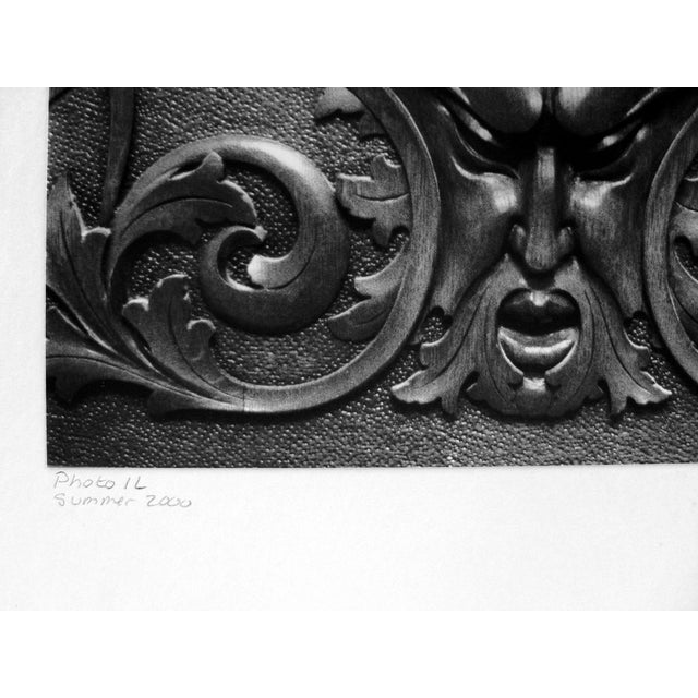 Photograph of an Architectural Detail For Sale - Image 4 of 5