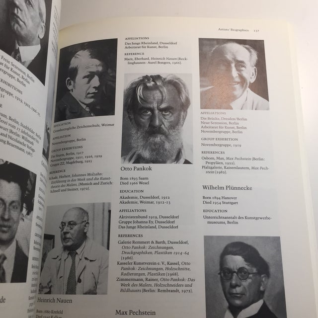 """""""German Expressionism 1915-1925"""" Art Book For Sale - Image 10 of 11"""