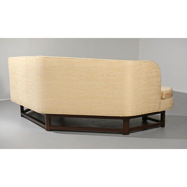White Edward Wormley for Dunbar 'Janus' Sofa Model 6329, Circa 1950s For Sale - Image 8 of 11