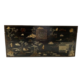 Antique Chinese Chest or Trunk For Sale