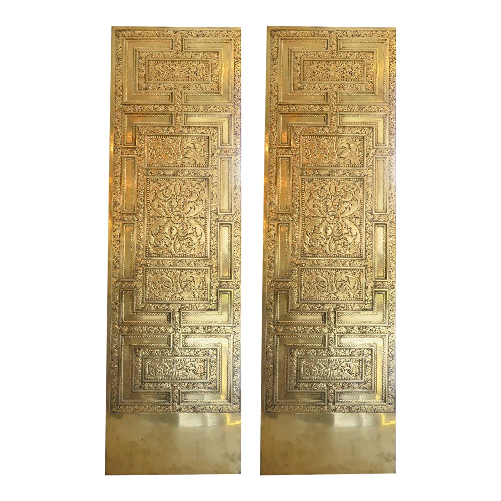 1920s Art Deco Bronze Elevator Door | Chairish