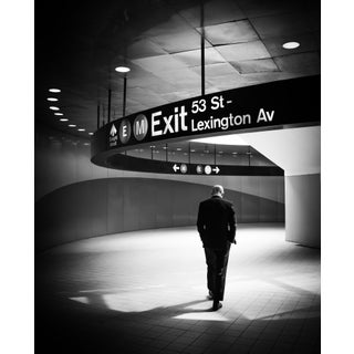 """""""Exit - New York City"""" Contemporary Black and White Photograph For Sale"""