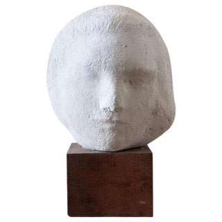Gaetano Cecere Plaster Sculpture Wood Base #10 For Sale