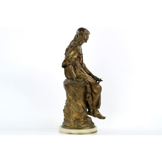 Paul Eugéne Mengin Bronze Sculpture - Image 4 of 10