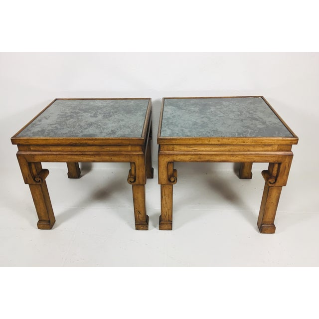 Asian Inspired Side Tables – a Pair For Sale - Image 9 of 9