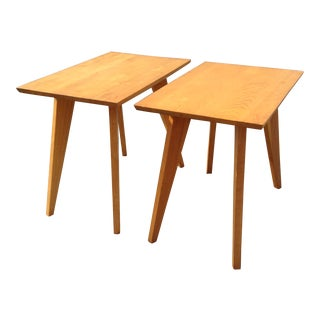 1940s Mid-Century Modern Dan Johnson Side Tables - a Pair For Sale