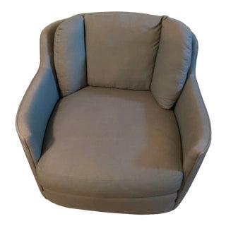 Henredon Green Club Chair For Sale