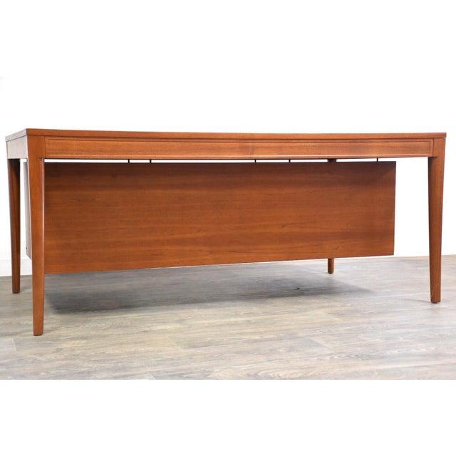 "Teak Executive ""Diplomat"" Desk by Finn Juhl For Sale - Image 12 of 13"