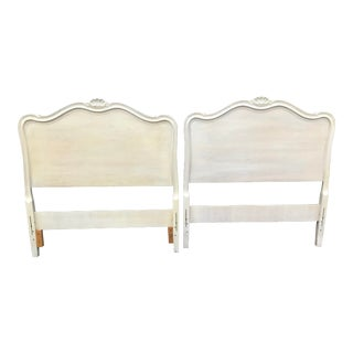 Drexel French Provincial Touraine Twin Head Boards - a Pair