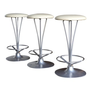 Piet Hein Counter Stools for Fritz Hansen, Circa 1970 For Sale